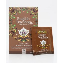Ets bio csokoládé rooibos&vanília tea 20x1,5g 30 g