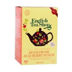 Ets bio mézbokor&acai berry punch tea 20x1,5g 30 g