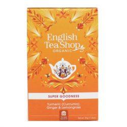 Ets 20 Bio Gyömbér-Citromfű Tea 20 filter