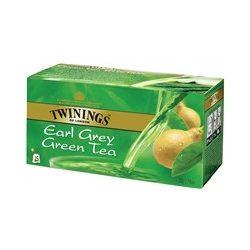 Twinings earl grey zöld tea 25x1,6 g 40 g