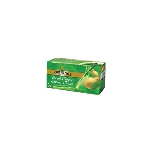 TWININGS EARL GREY ZÖLD TEA 25 DB 25 filter