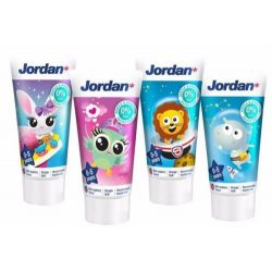 Jordan gyermek fogkrém 0-5 évesek számára 50 ml