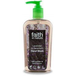 Faith in nature levendula és geránium kézmosó 300 ml