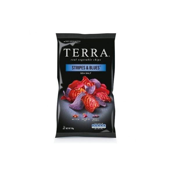 Terra stripes&blues burgonyás-céklás chips 110 g