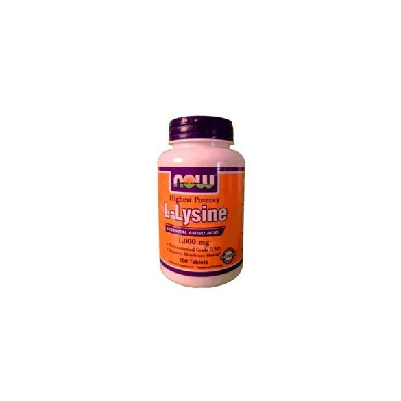 Now l-lysine tabletta 1000mg 100 db