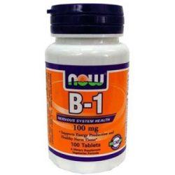 Now b1 vitamin tabletta 100mg 100 db