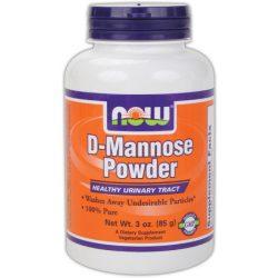NOW D-MANNOSE POWDER PORKÉSZÍTMÉNY 85 g