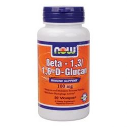 Now beta 1,3/l6d glucan kapszula 100mg 90 db