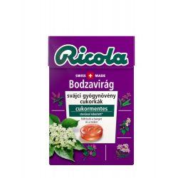 Ricola cukorka bodzavirág 40 g