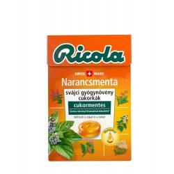 Ricola cukorka narancs-menta 40 g