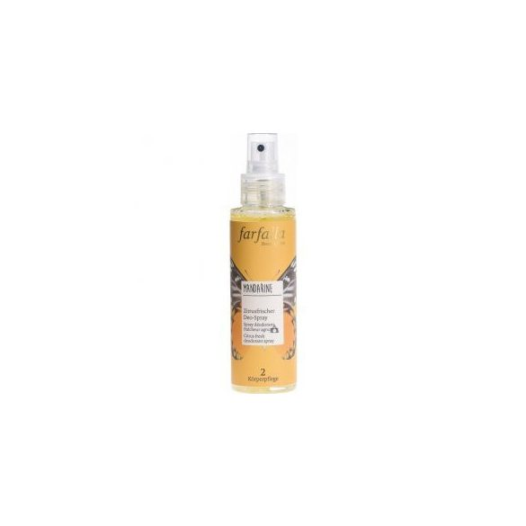 Farfalla Mandarine, citrus fresh  deodorant spray 100