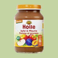 Holle bio bébiétel alma szilvával 190 g