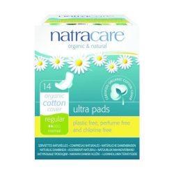 Natracare bio betét szárnyas normál 14 db