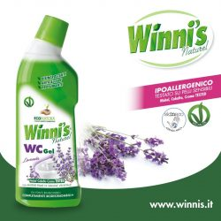 Winnis wc tisztító gél levendula 750 ml