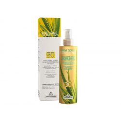 Specchiasol® Verattiva® 30 faktoros Napozó spray - Arcra/Testre. Nem tartalmaz: paraben, alkohol, OGM, SLES, SLS.