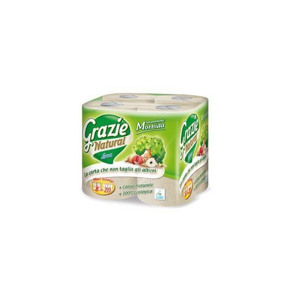 Grazie Natural öko toalettpapír 8 db maxi