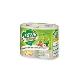 Grazie Natural öko toalettpapír 4 db