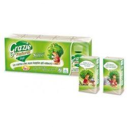 Grazie Natural lucart papírzsebkendő kis csomagos 90 db