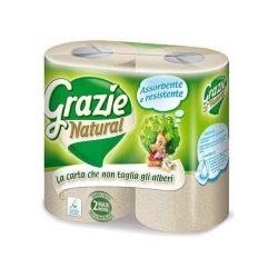 Grazie Natural lucart tekercses kéztörlő papír 2 db