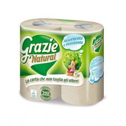 Grazie Natural lucart dbercses kéztörlő papír 2 db