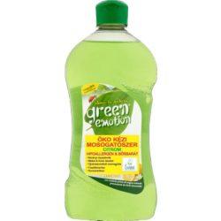 Green Emotion öko kézi mosogatókoncentrátum citromos 500 ml