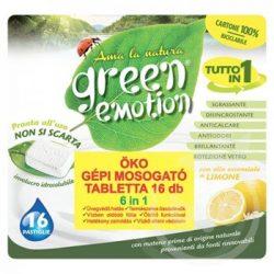 Green Emotion öko mosogatógép tabletta 16 db