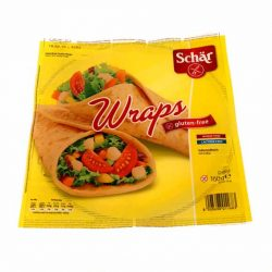 Schar gluténmentes wraps tortilla lap 160 g