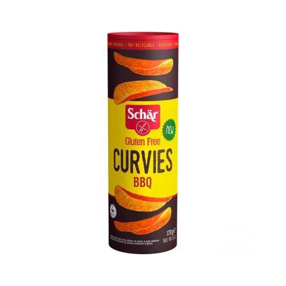 Schar curvies chips bbq 170 g