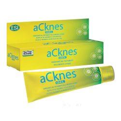 ESI® aCknes® gél - Aknés bőrre, mint pattanás, mitesszer, fekete, illetve fehér tömlők, gyulladt göbök.