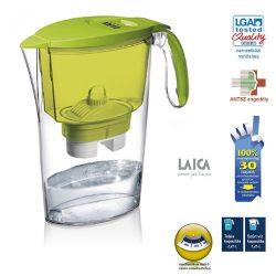 Laica clear line vízszűrőkancsó zöld
