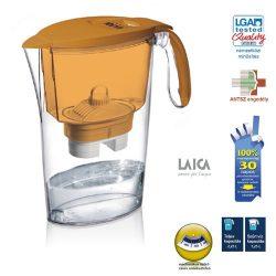 Laica clear line vízszűrőkancsó narancssárga