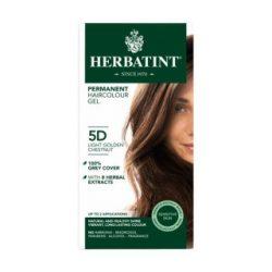 Herbatint 5d arany világos gesztenye hajfesték 135 ml
