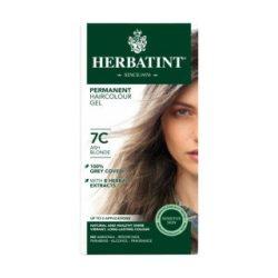 Herbatint 7c hamvas szőke hajfesték 135 ml