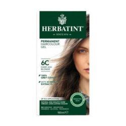 Herbatint 6c sötét hamvas szőke tartós növényi hajfesték 150 ml