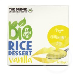 The Bridge bio rizs desszert vanília 4x110g 440 ml