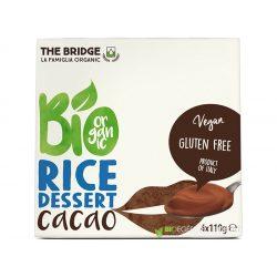 The Bridge bio rizs desszert csokoládé 4x110g 440 g