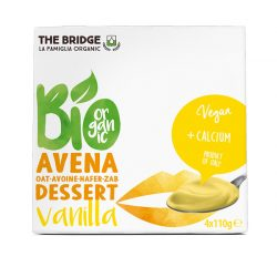 The Bridge bio zab desszert vaníliás 4x110g 440 g