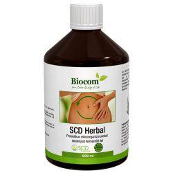 Biocom SCD Herbal - Probiotikus ital 500 ml