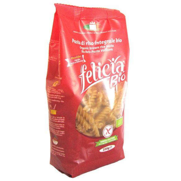 Felicia bio gluténmentes barnarizs fussili tészta 250 g