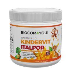Biocom Kindervit - narancsízű italpor 190 gr