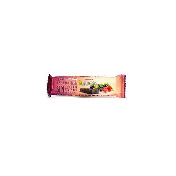 Torras gluténmentes étcsokoládé erdei gyümölcs steviával 35 g