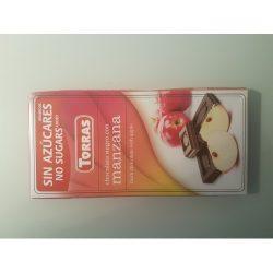 Torras gluténmentes étcsokoládé almás 75 g