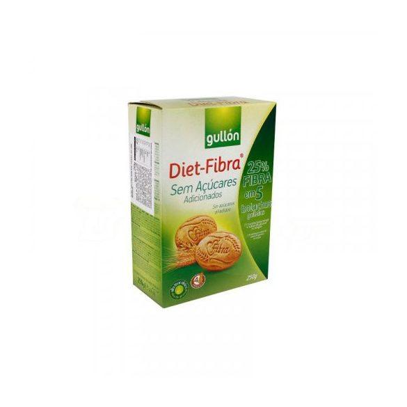 Gullón keksz rostdús diet-fibra 250 g