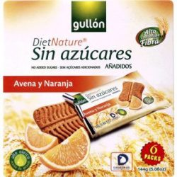 Gullón snack zabos-narancsos keksz 144 g