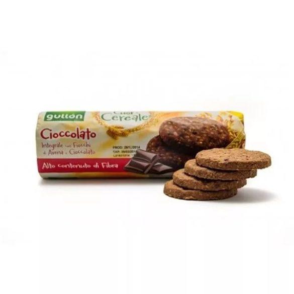 Gullón élelmi rostban gazdag gabonakeksz csokoládéval 280 g