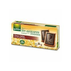 Gullón choco tablet étcsokis keksz édesítőszerrel 150 g
