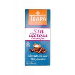 Trapa Lactose Free laktózmentes táblás tejcsokoládé 90 g