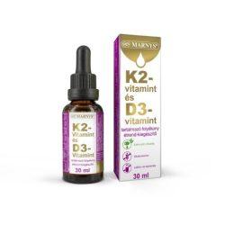 Marnys k2-vitamin és d3-vitamin 30 ml