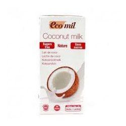 Ecomil bio kókuszital hozzáadott édesítőszer nélkül 1000 ml