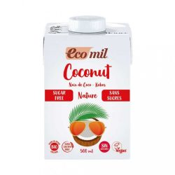 Ecomil bio kókuszital cukormentes 500 ml